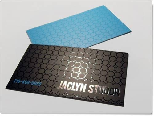 cartão verniz localizado frente e verso requinte e sofisticação